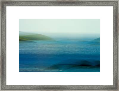 Just For A Moment Framed Print