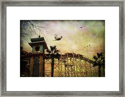 Framed Print featuring the digital art Just For Fun by Margaret Hormann Bfa
