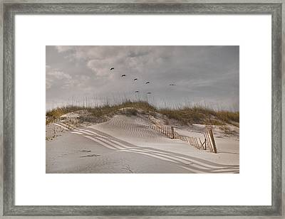 Just For You Outer Banks Nc Framed Print by Betsy Knapp