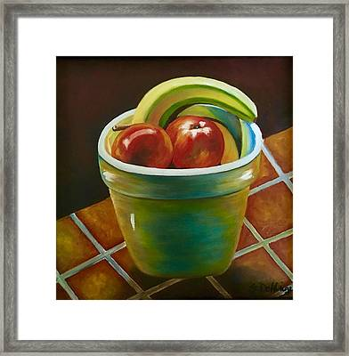Just Fruit Reflections Framed Print