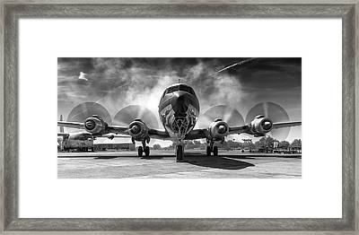 Just Getting Warmed Up Framed Print