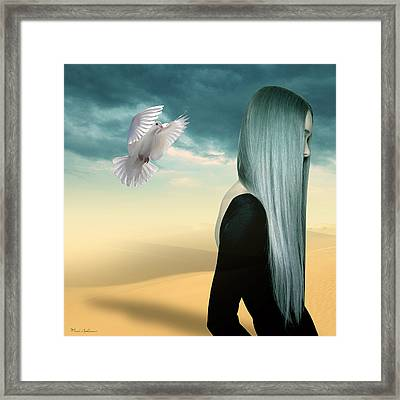 Just Go  Framed Print by Mark Ashkenazi