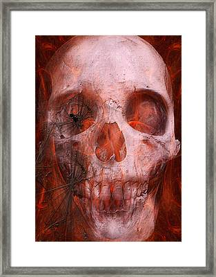 Just Grining Framed Print by Jean Gugliuzza