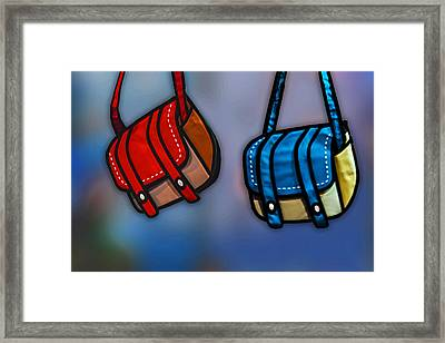 Just Hangin Framed Print by Paul Wear