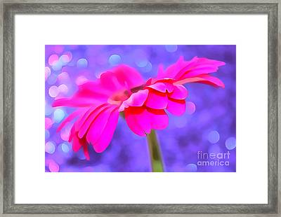 Just Happy Framed Print by Krissy Katsimbras