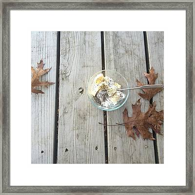 Just In Cased You Missed It This Am Framed Print