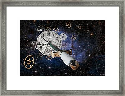Just Killing Time Framed Print