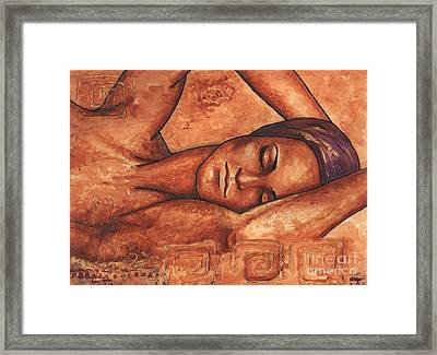Just Lay Back And Relax And . . .  Framed Print