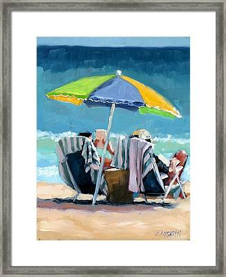 Just Leave A Message IIi Framed Print by Laura Lee Zanghetti