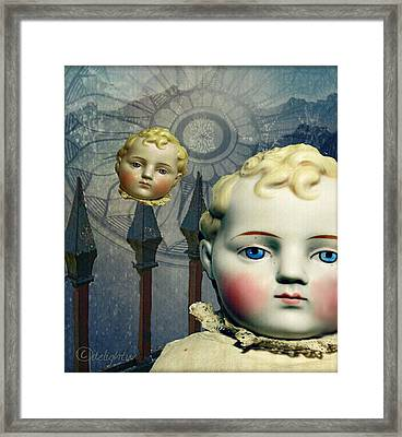 Just Like A Doll Framed Print