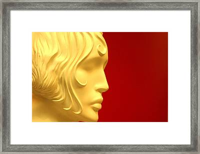 Just Little Quiet Me Framed Print by Jez C Self