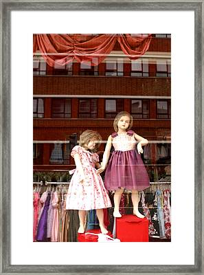Just Look And You Will See That We Are Not Well Framed Print by Jez C Self