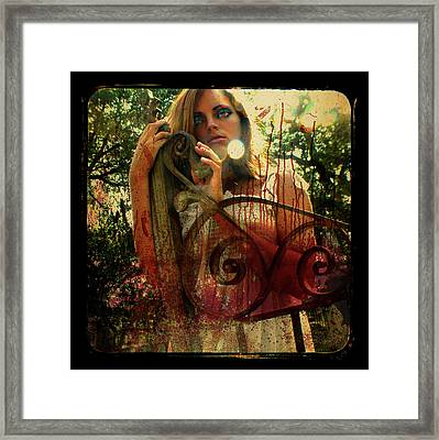 Just Look At This Mess Framed Print by Melissa Wyatt