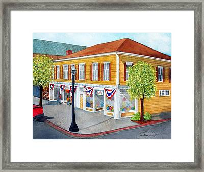 Just Looking  Framed Print by Carolyn Koup