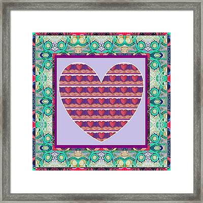 Just Love - Take 4 Framed Print by Helena Tiainen