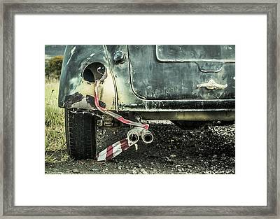 Just Married? Framed Print