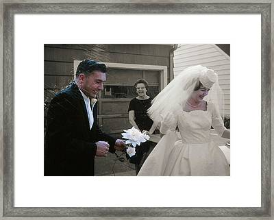 Just Married Framed Print by JAMART Photography
