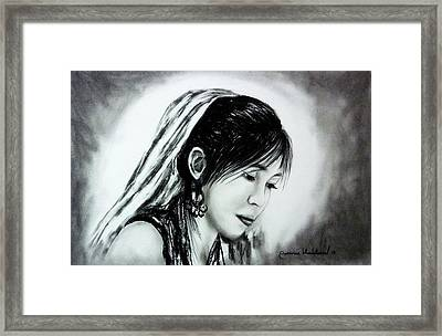 Just Me Wanvisa Framed Print