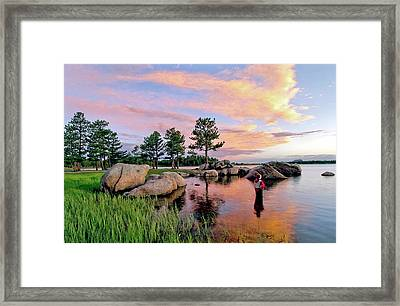Just One More Framed Print by James Steele