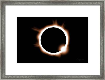 Just One Opportunity Framed Print