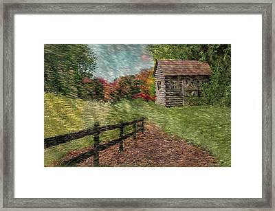 Just Passing By Framed Print by Reese Lewis