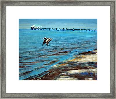 Just Passing By Framed Print by Suzanne McKee
