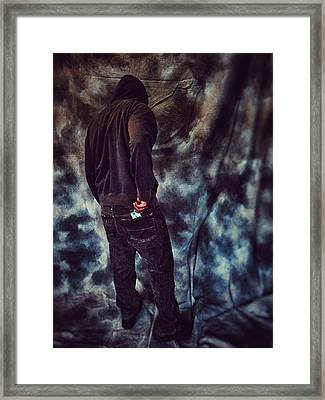 Just Past Abstinence Framed Print