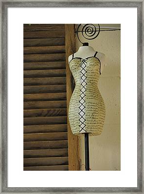 Just Perfect For Me Framed Print by Jan Amiss Photography
