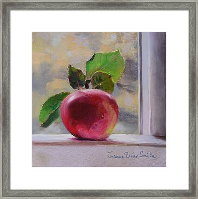 Just Picked Framed Print by Jeanne Rosier Smith