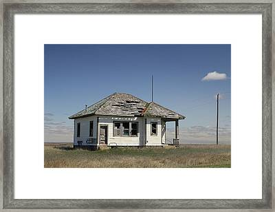 Just Plain Lonely Framed Print by Christopher McKenzie