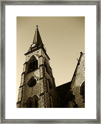 Just Pray Framed Print