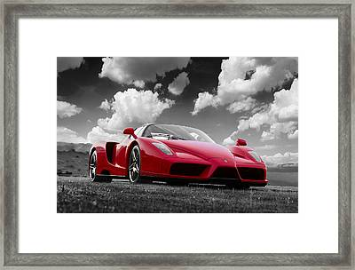 Just Red 1 2002 Enzo Ferrari Framed Print
