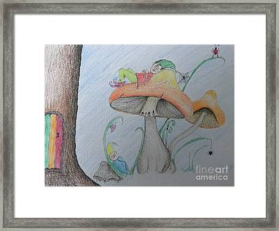 Just Relax Framed Print by Evie Hanlon