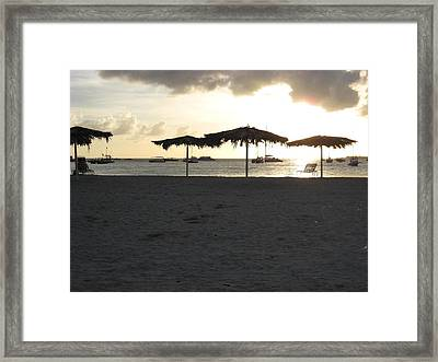 Just Relax Framed Print