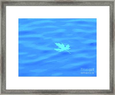 Just Relax Now Framed Print