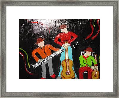 Just Rippin It Framed Print