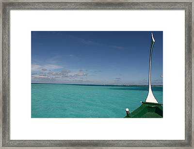 Just Sea And Skies Framed Print by Andrei Fried