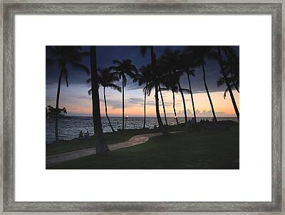 Just Simply Be Mine Framed Print by Laurie Search