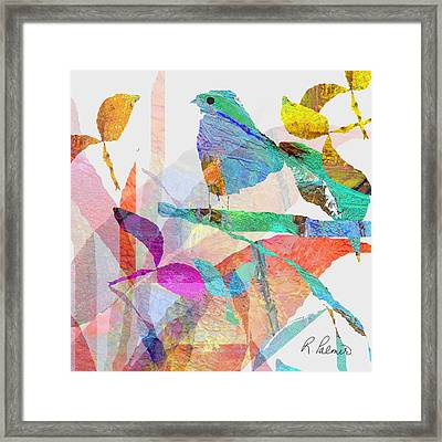 Just Sittin Framed Print