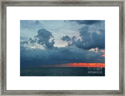 Just Sitting And Watching The World Go By Framed Print by Robyn King