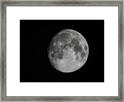 Just The Moon Framed Print by Jean Noren