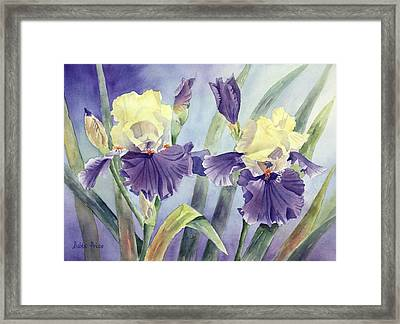Just The Two Of Us Framed Print by Bobbi Price