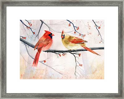 Just The Two Of Us Framed Print by Melly Terpening