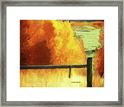 Just The Way It Is Framed Print