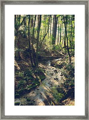 Just Think Of Me Framed Print by Laurie Search