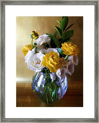 Just To Say Thank You Framed Print by Julie Palencia