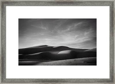 Just Tryin' To Find Some Peace Framed Print by Laurie Search