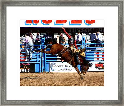 Just Two More Seconds To Go Framed Print by Joe Kozlowski