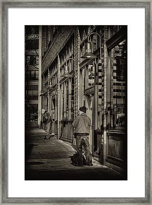 Just Waiting Framed Print by David Patterson