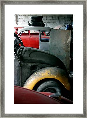 Just Waiting Framed Print by Jez C Self